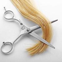 lange haare schneiden