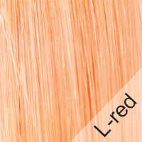 Haare L-red